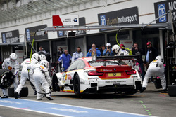 Pit stop, Augusto Farfus, BMW Team RMG, BMW M4 DTM