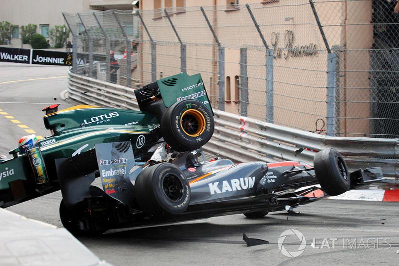 Monaco 2010: Chandhok/Trulli