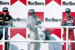 Podium: 1. Nelson Piquet, Williams; 2. Ayrton Senna, Lotus; 3. Nigel Mansell, Williams