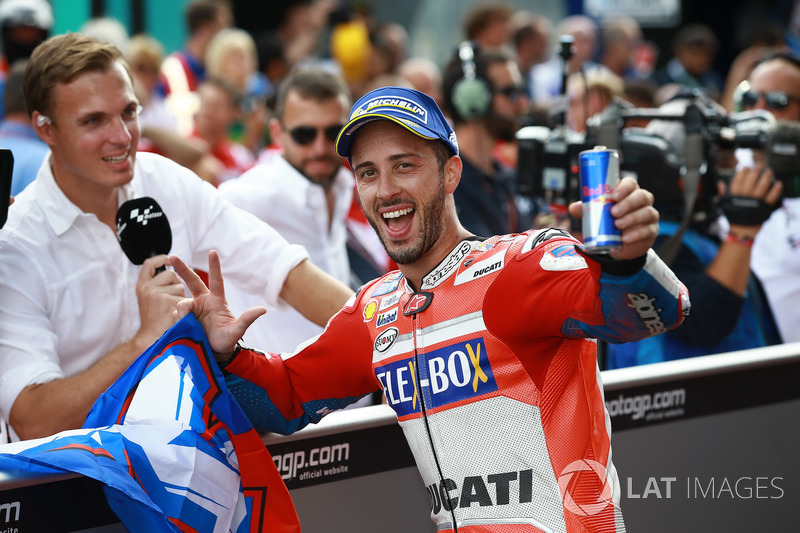 2. Андреа Довіціозо, Ducati Team - 158 очок