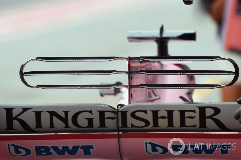 Force India VJM10: T-Flügel
