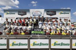 Tequila Patron North American Endurance Cup contenders driver group photo