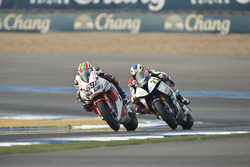Nicky Hayden, Honda WSBK Team y Markus Reiterberger, Althea BMW Team