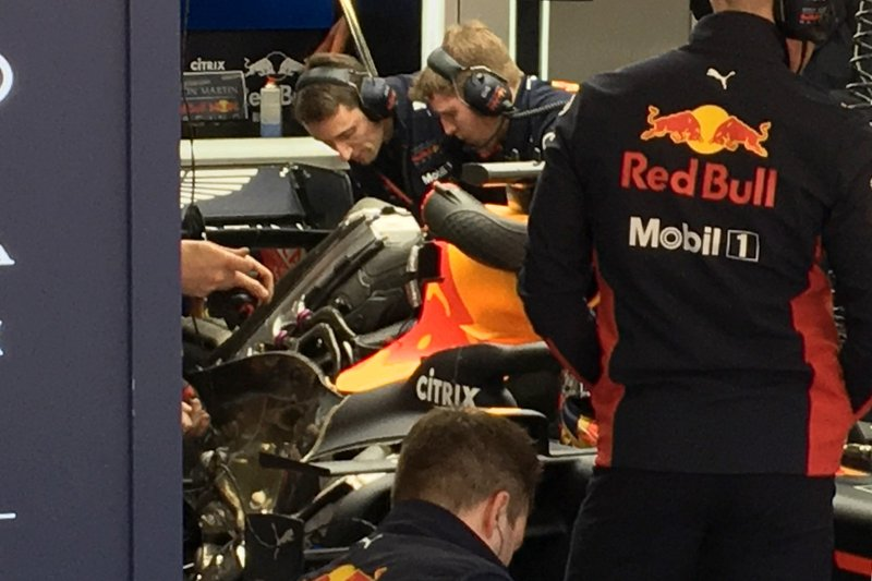 Le moteur de la Red Bull Racing RB16