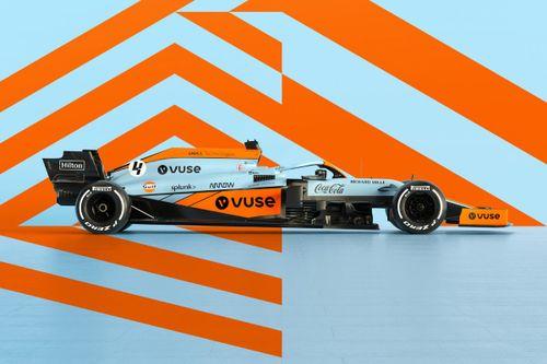 Pintura McLaren Gulf