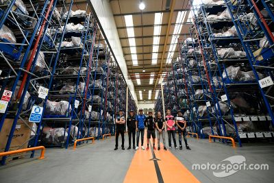 Triumph factory visit