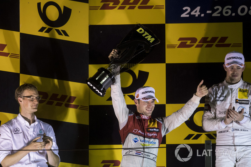 Podio: Robin Frijns, Audi Sport Team Abt Sportsline, Audi RS5 DTM