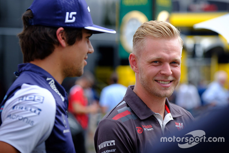 Kevin Magnussen, Haas F1 Team, Lance Stroll, Williams Racing