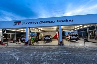 Team area Toyota Gazoo Racing WRT