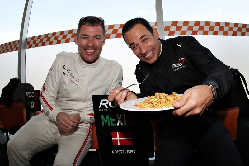 Tom Kristensen, Helio Castroneves