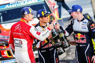 Победитель Себастьен Лёб, Citroën World Rally Team, второе место – Себастьен Ожье, третье место – Элфин Эванс, M-Sport Ford WRT