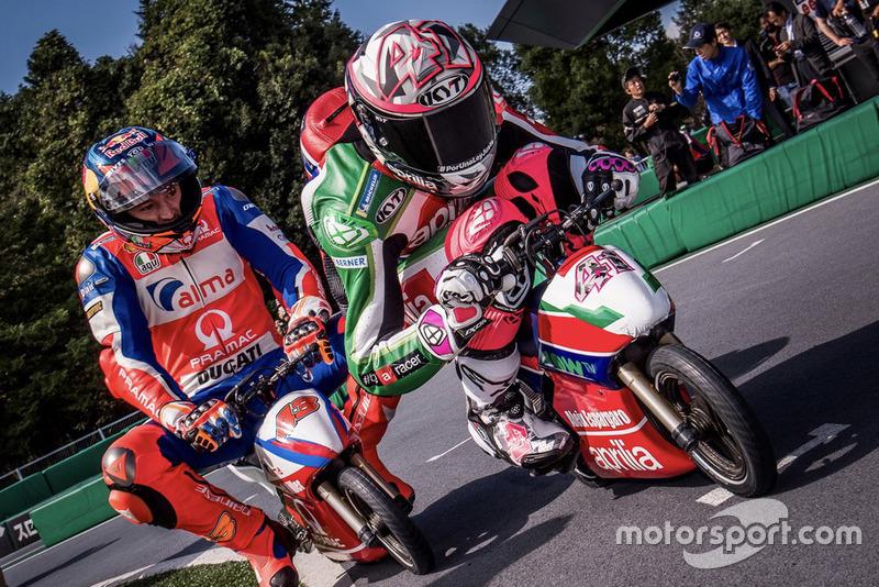 Алейш Еспаргаро, Aprilia Racing Team Gresini, Джек Міллер, Pramac Racing, гонка міні-мото
