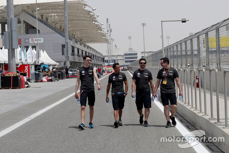 Gianni Morbidelli, Giacomo Altoè, West Coast Racing