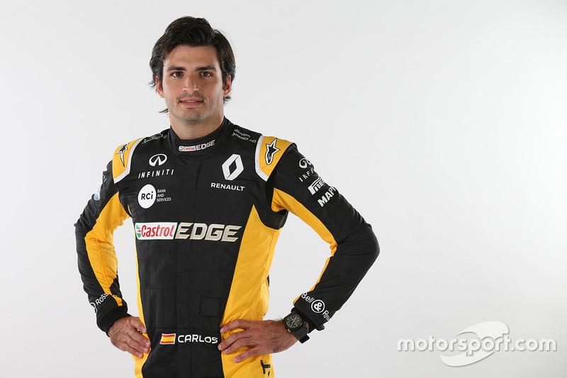 #55 Carlos Sainz, Renault Sport F1 Team (Red Bull se guarda una opción sobre él)