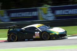 #55 Spirit of Race, Ferrari F488 GTE: Duncan Cameron, Matt Griffin, Aaron Scott