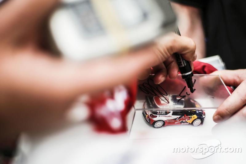 Sébastien Loeb, Citroën autógrafo