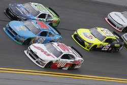 Cole Custer, Stewart-Haas Racing Ford Casey Mears, Biagi-DenBeste Racing Ford Erik Jones, Joe Gibbs Racing Toyota
