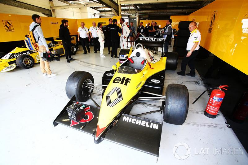 Renault Sport F1 Team F1 Histórico, Franck Montagny