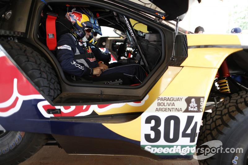 Лукас Круз, Peugeot Sport, Peugeot 3008 DKR