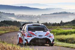 Juho Hänninen, Kaj Lindström, Toyota Yaris WRC, Toyota Racing