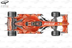 Ferrari F2007 (658) 2007 Spain testing top view