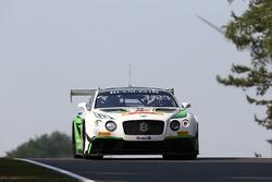 #8 Bentley Team M-Sport, Bentley Continental GT3: Andy Soucek, Maxime Soulet