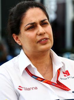 Monisha Kaltenborn, directora de Sauber Team