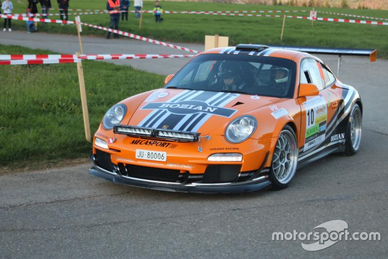 Marc Valliccioni, Sandra Arlettaz, Porsche 997 R-GT, Bozian Racing