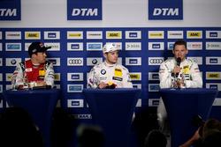 Mattias Ekström, Audi Sport Team Abt Sportsline, Audi A5 DTM, Marco Wittmann, BMW Team RMG, BMW M4 DTM, Maro Engel, Mercedes-AMG Team HWA, Mercedes-AMG C63 DTM