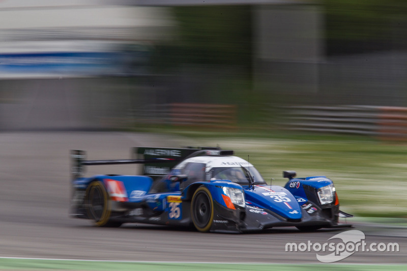 #35 Signatech, Alpine A470 Gibson: Nelson Panciatici, Pierre Ragues, Andre Negrao