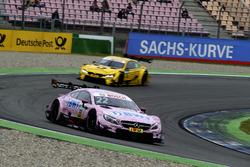 Lucas Auer, Mercedes-AMG Team HWA, Mercedes-AMG C63 DTM; Timo Glock, BMW Team RMG, BMW M4 DTM