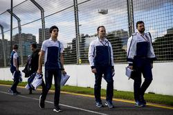 Trackwalk mit dem Team: Lance Stroll, Williams