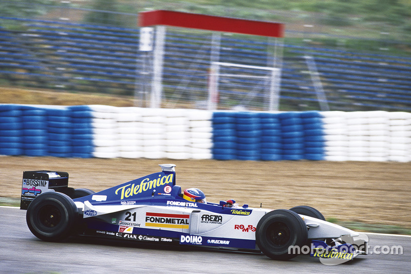 Фернандо Алонсо, Minardi M01 Ford