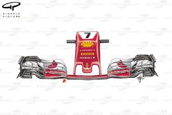 Ferrari SF70H: Nase, GP Österreich
