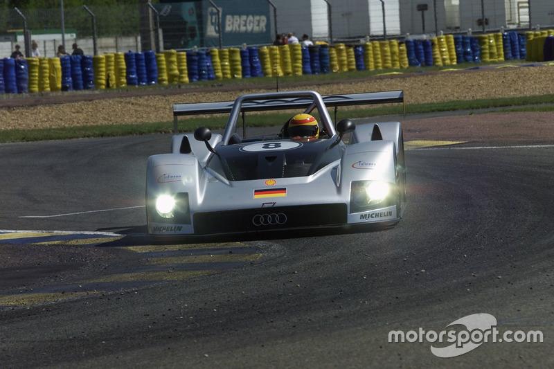 #8 Audi Sport Team Joest, Audi R8R: Frank Biela, Didier Theys, Emanuele Pirro