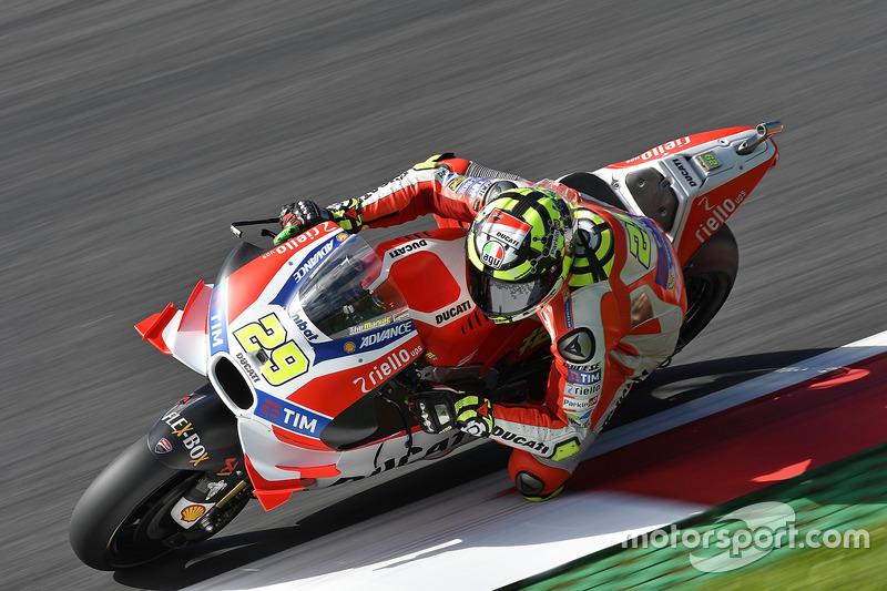 Österreich, Spielberg: Andrea Iannone, Ducati Team