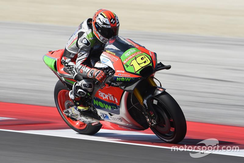 12. Alvaro Bautista, Aprilia Gresini Racing Team