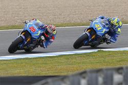 Maverick Viñales, Team Suzuki MotoGP y Aleix Espargaró, Team Suzuki MotoGP