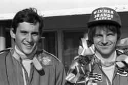 Ayrton Senna und Rick Morris