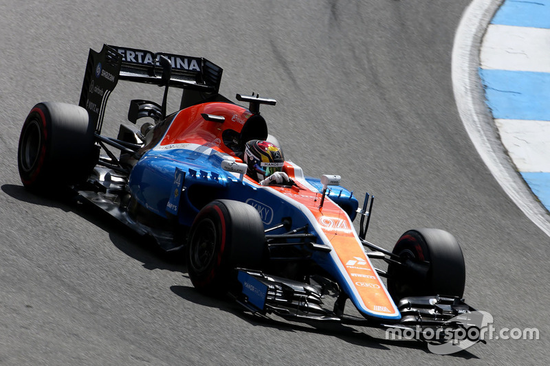 17. Pascal Wehrlein, Manor Racing