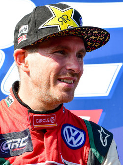 Podium: segundo, Scott Speed, Volkswagen