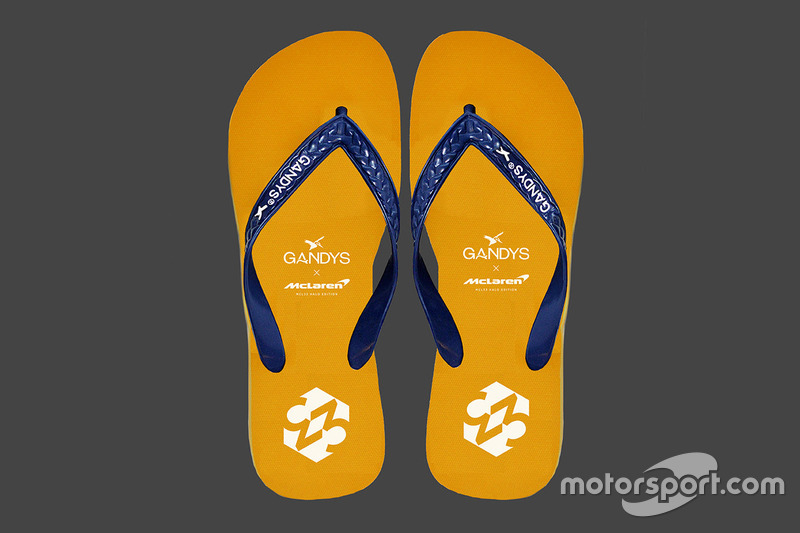 Les tongs McLaren Gandys