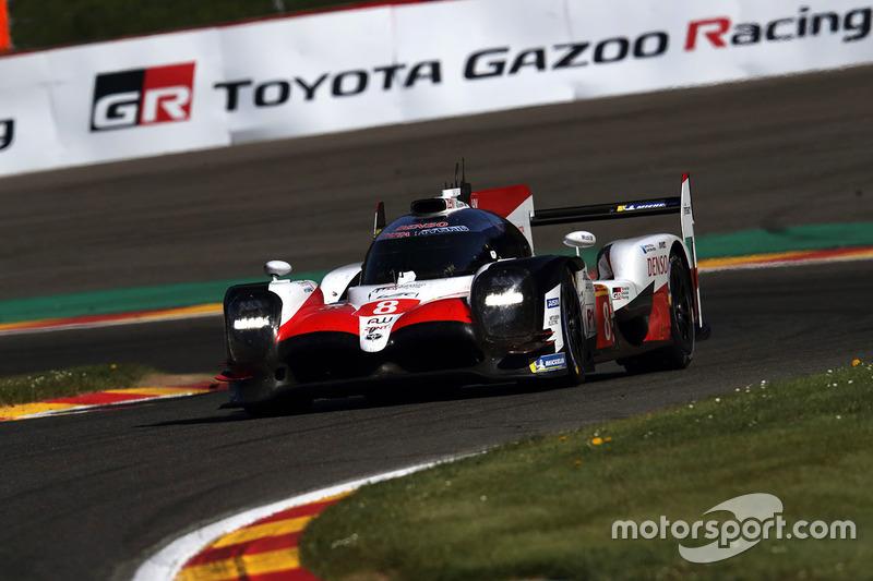#8 Toyota Gazoo Racing Toyota TS050: Себастьян Буемі, Казукі Накадзіма, Фернандо Алонсо