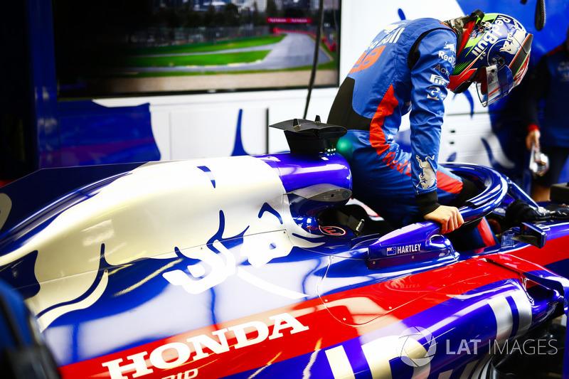 Brendon Hartley colocou sua Toro Rosso em 16º