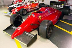 Ferrari 637 aen el Museo de Ferrari