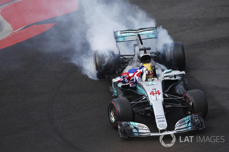 2017 - Lewis Hamilton, Mercedes AMG F1