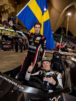Johan Kristoffersson and Joel Eriksson of Team Sweden