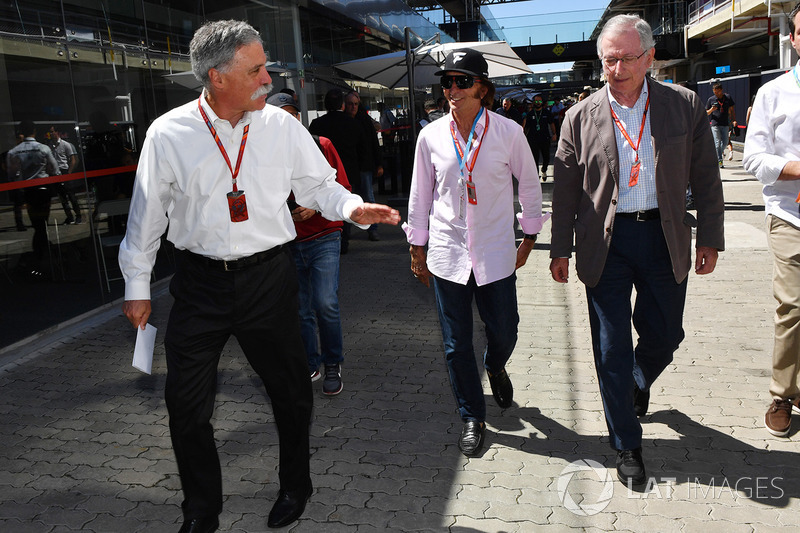Chase Carey, Chief Executive Officer and Executive Chairman of the Formula One Group and Emerson Fit