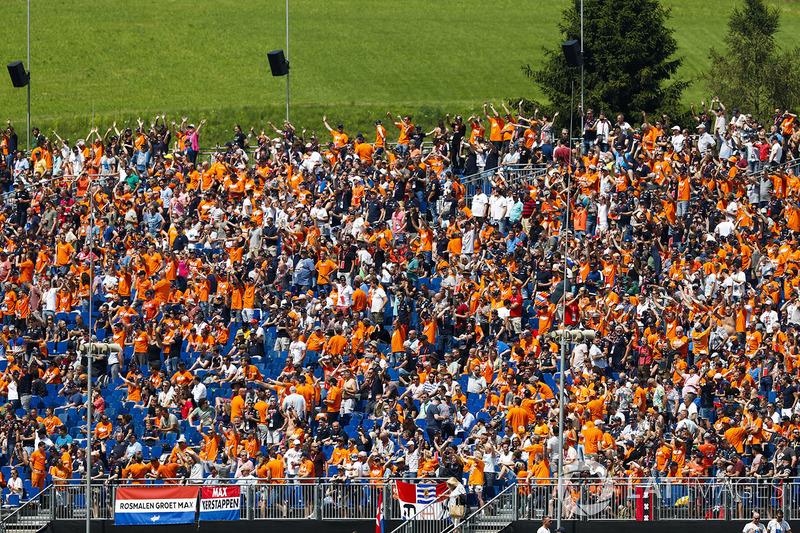 Huge Dutch support for Max Verstappen, Red Bull Racing