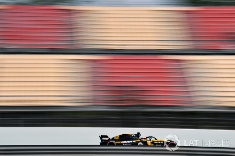 Джек Эйткен, Renault Sport F1 Team RS18